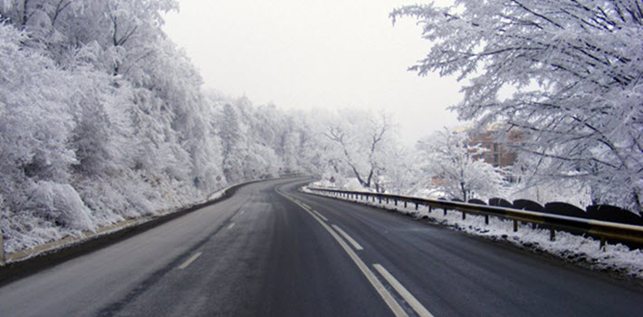 Kontrastene i årstider gir bilførere mer ansvar på veien